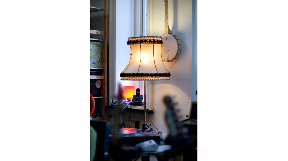 Lindstrøm's studio