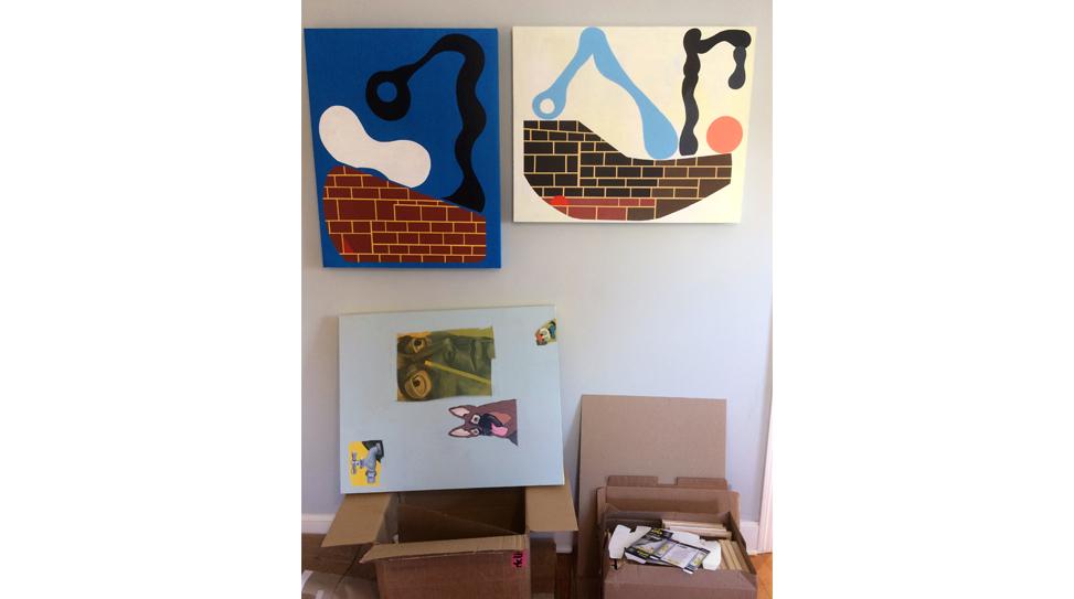Mark Mulroney Studio Visit